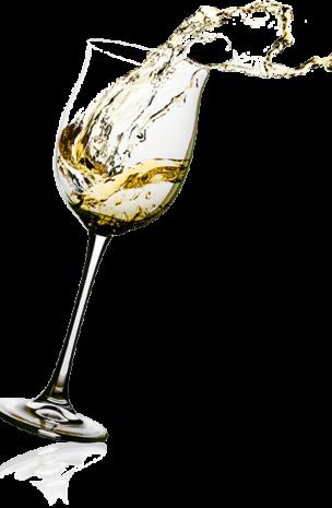 witte-wijn-glas-the-black-tie-assen-drenthe